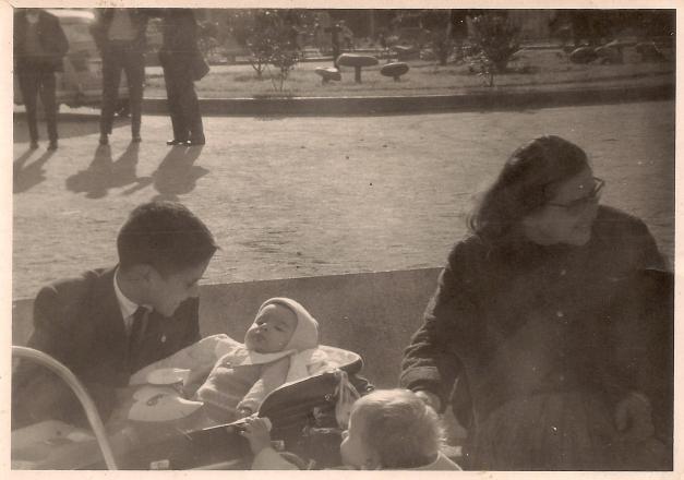 Foto cedida por Luis de la Peña - Mirador de Los Castros hacia 1964